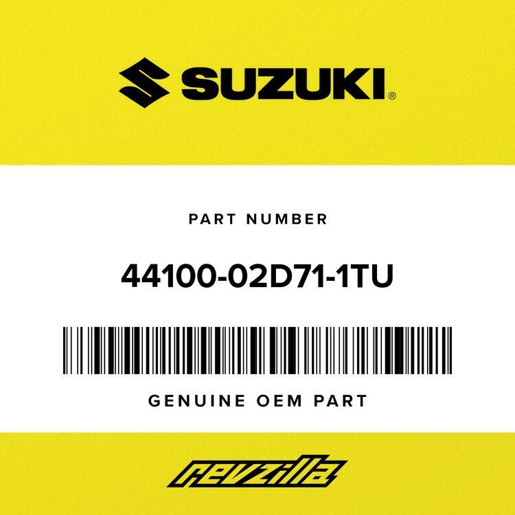 Suzuki TANK ASSY, FUEL (PURPLE) 44100-02D71-1TU