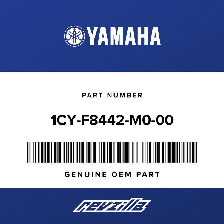 Yamaha SADDLEBAG, 2 - RIGHT 1CY-F8442-M0-00