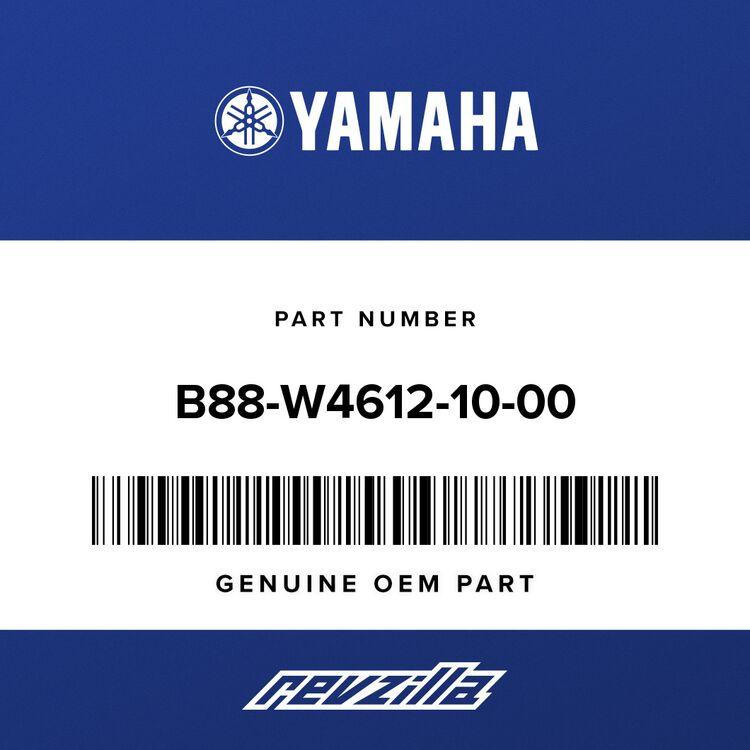 Yamaha REAR AXLE GEAR CASE B88-W4612-10-00
