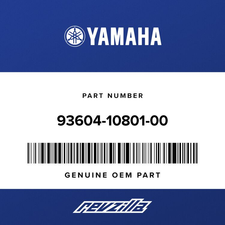 Yamaha PIN, DOWEL 93604-10801-00