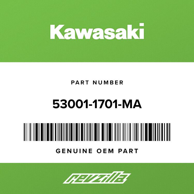 Kawasaki SEAT-ASSY, DUAL, BLACK 53001-1701-MA