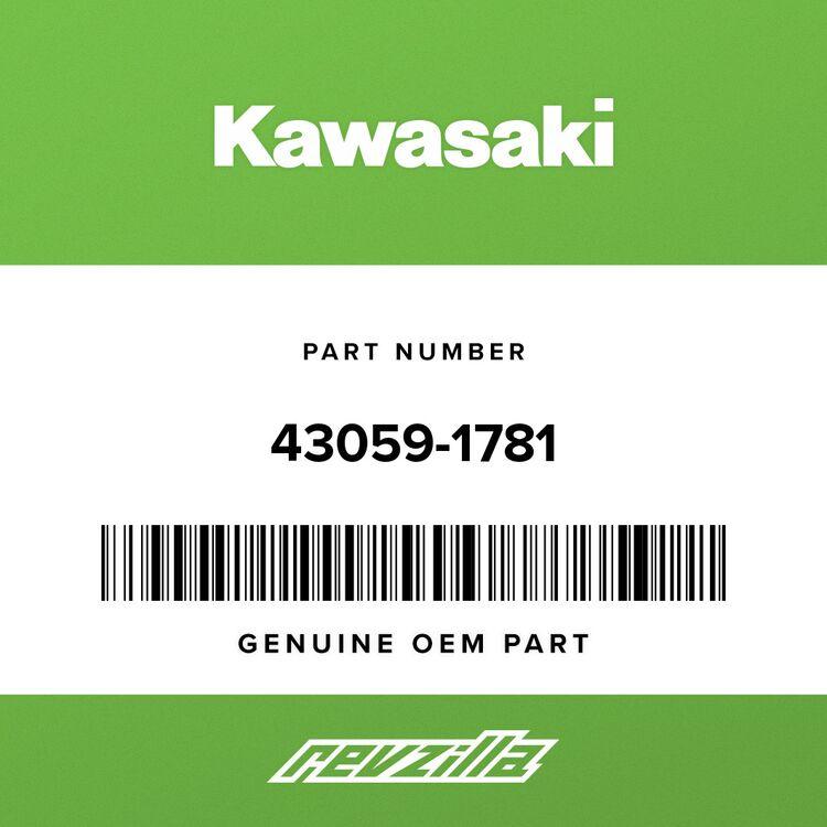 Kawasaki HOSE-BRAKE, FR, LWR 43059-1781