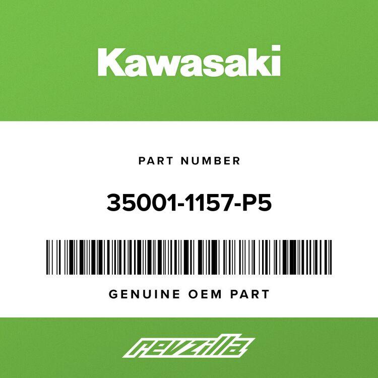 Kawasaki FENDER-ASSY-FRONT, L.V.RED 35001-1157-P5