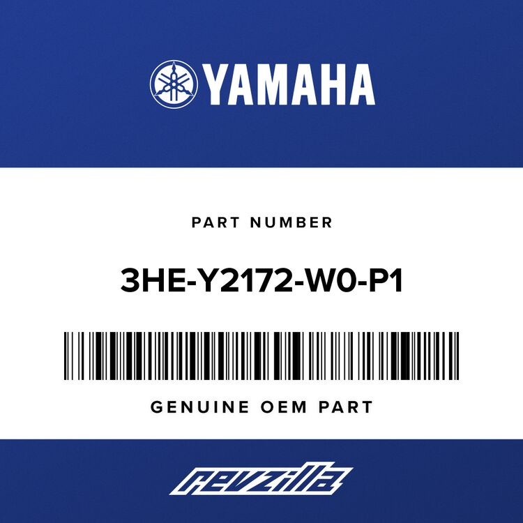 Yamaha COVER, SIDE 2 3HE-Y2172-W0-P1