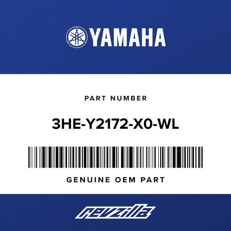 Yamaha COVER, SIDE 2 3HE-Y2172-X0-WL