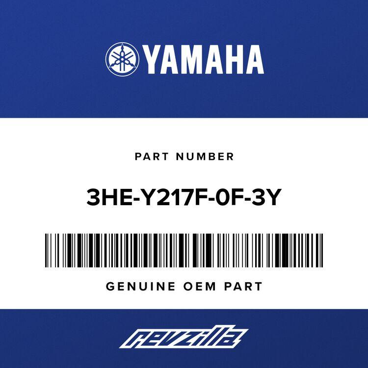 Yamaha COVER, TOP (FUEL TANK) 3HE-Y217F-0F-3Y