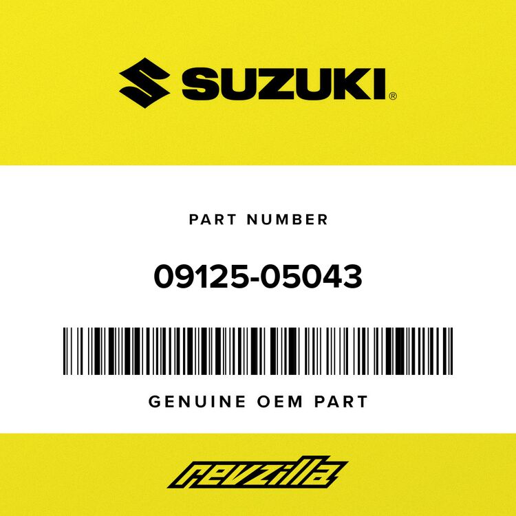 Suzuki SCREW 09125-05043