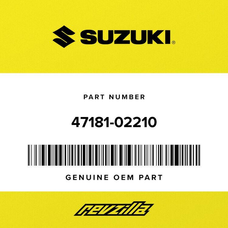 Suzuki COVER, FRAME UPPER 47181-02210