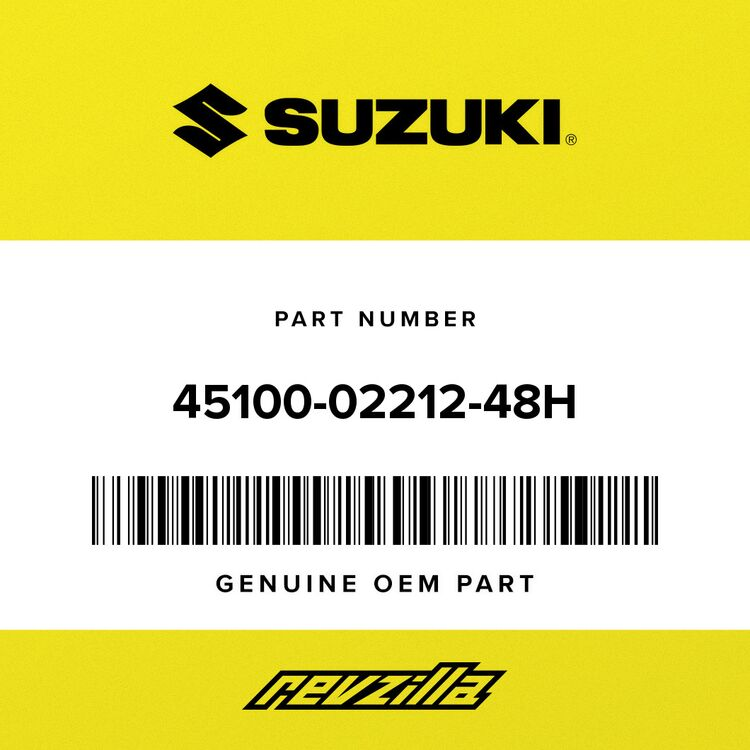Suzuki SEAT ASSY (BLOCK) 45100-02212-48H