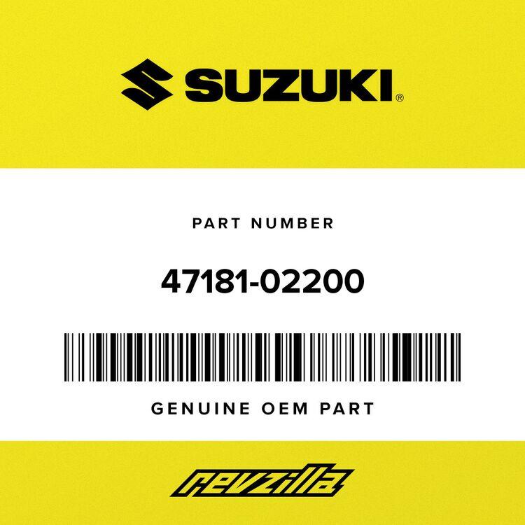 Suzuki COVER, FRAME UPPER 47181-02200