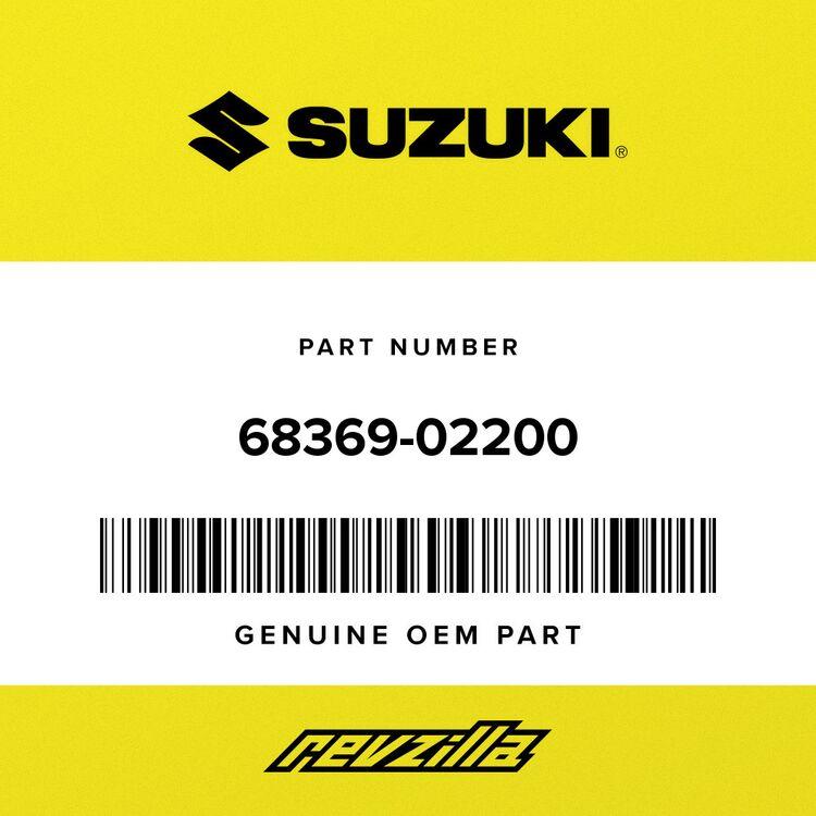 Suzuki LABEL, WARNING 68369-02200