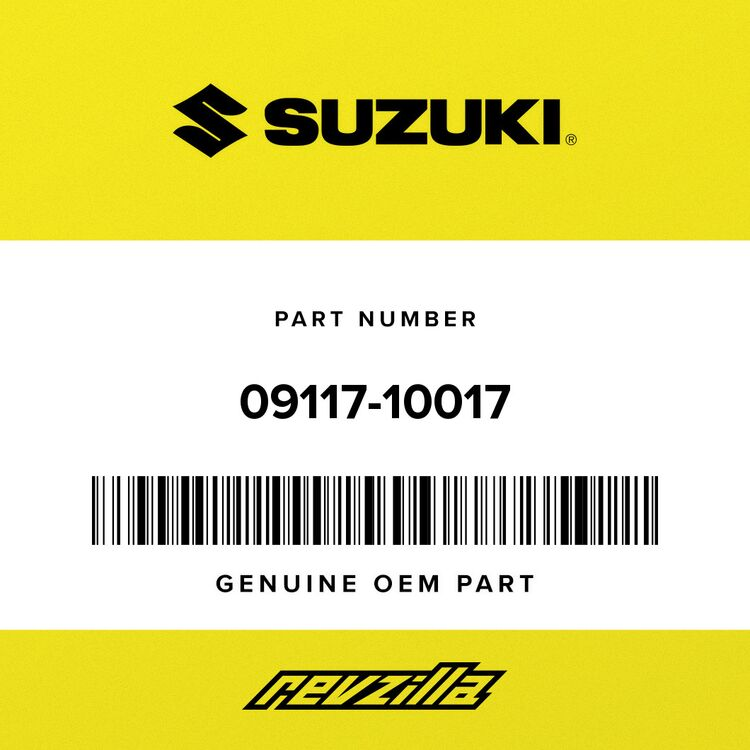 Suzuki BOLT, LOWER 09117-10017