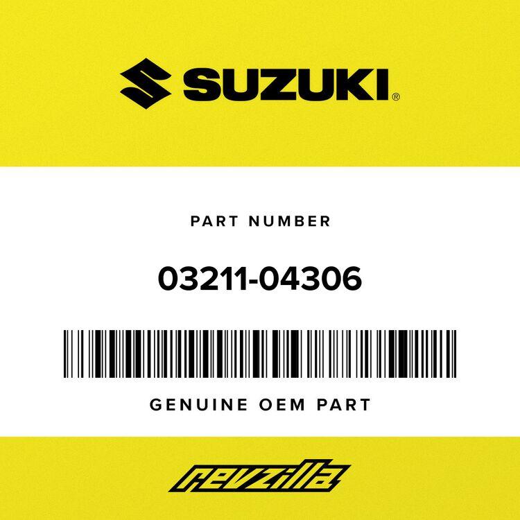 Suzuki SCREW 03211-04306
