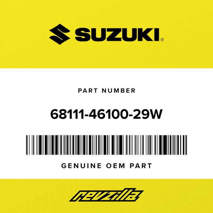 Suzuki EMBLEM, FRONT (RED) 68111-46100-29W