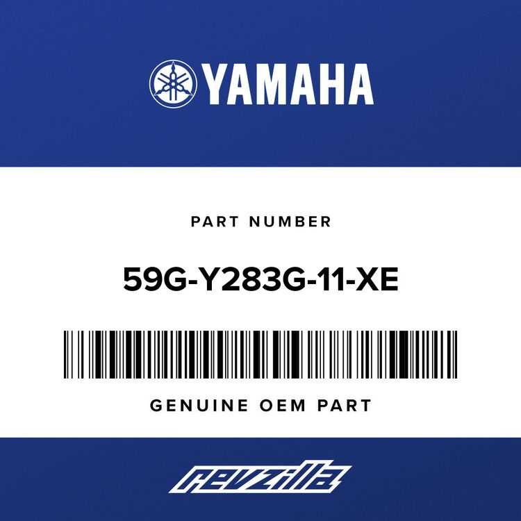 Yamaha BODY, front upper 1 59G-Y283G-11-XE