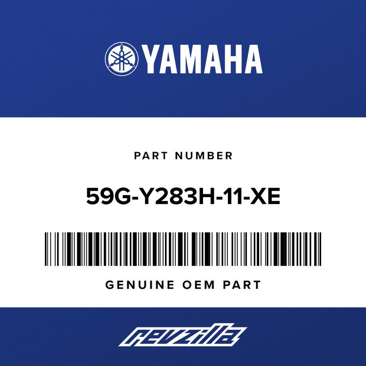 Yamaha BODY, front upper 2 59G-Y283H-11-XE