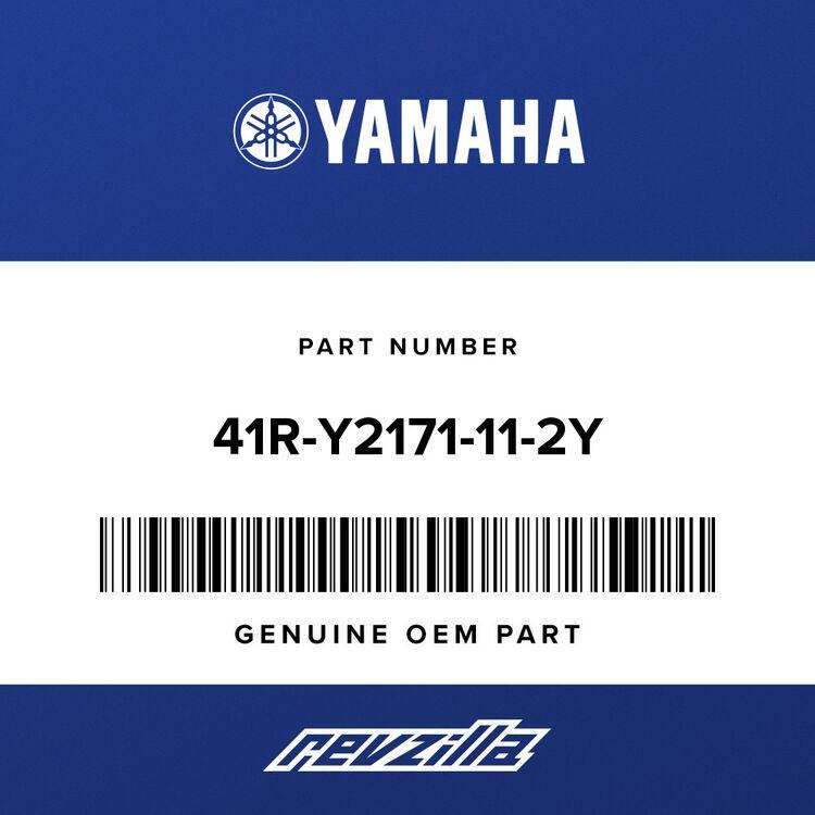 Yamaha COVER, side 1 41R-Y2171-11-2Y