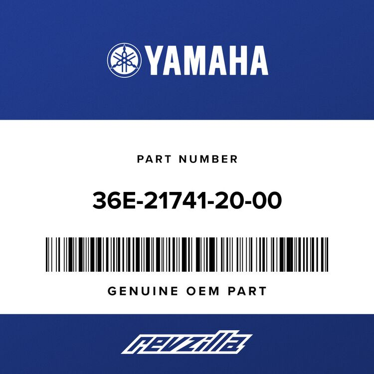 Yamaha COVER, SIDE 4 36E-21741-20-00