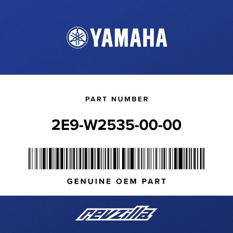 Yamaha BRAKESHOE SET-2PCS 2E9-W2535-00-00