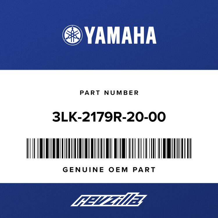 Yamaha PLATE, EPA CAL 2 3LK-2179R-20-00