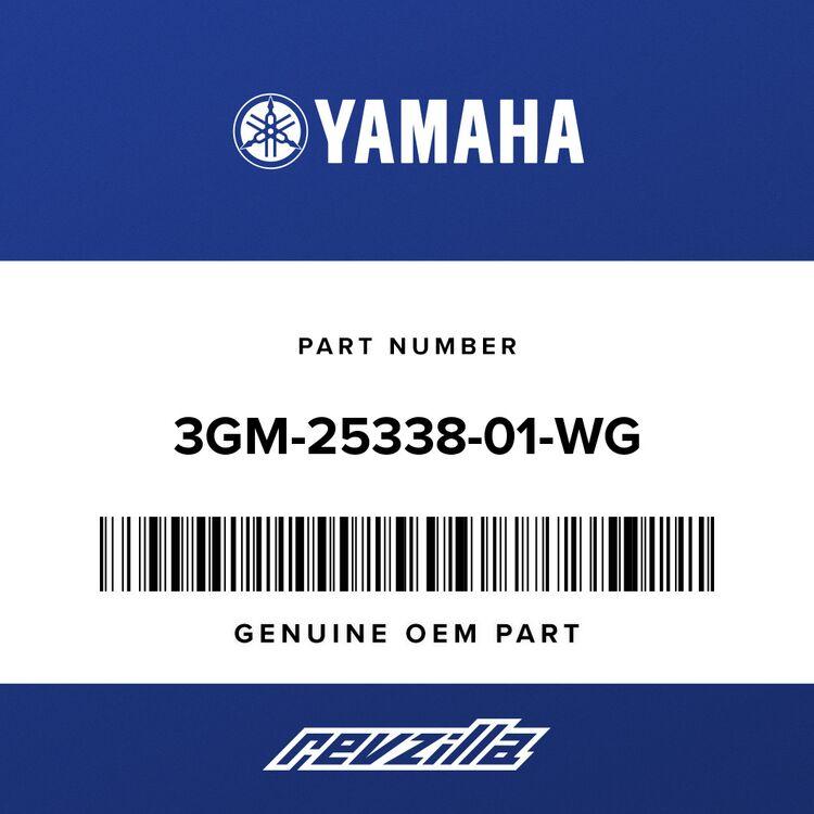 Yamaha WHEEL, CAST REAR 3GM-25338-01-WG