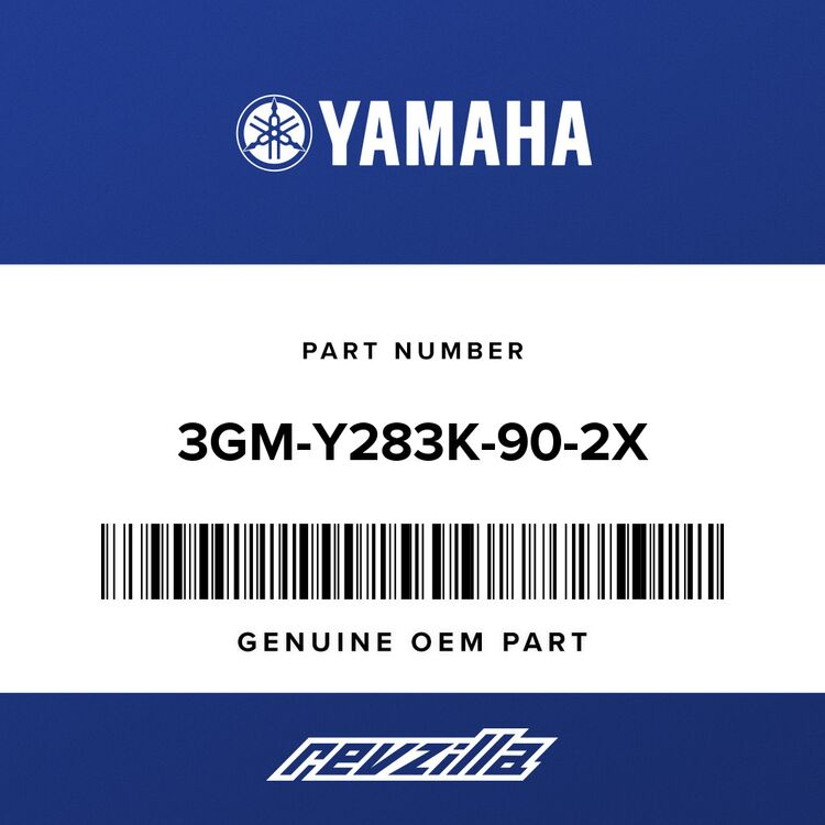 Yamaha BODY, FRONT LOWER2 3GM-Y283K-90-2X