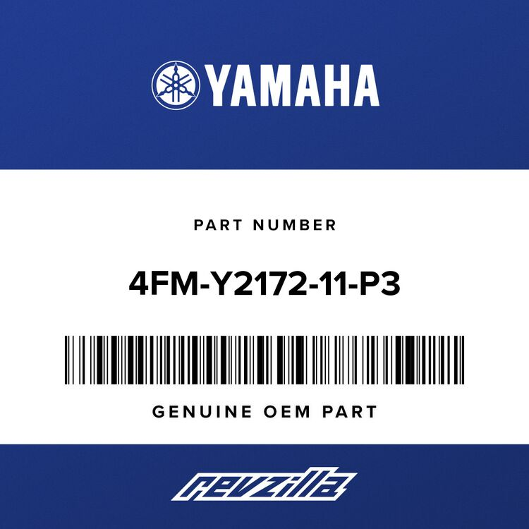 Yamaha COVER, SIDE 2 4FM-Y2172-11-P3