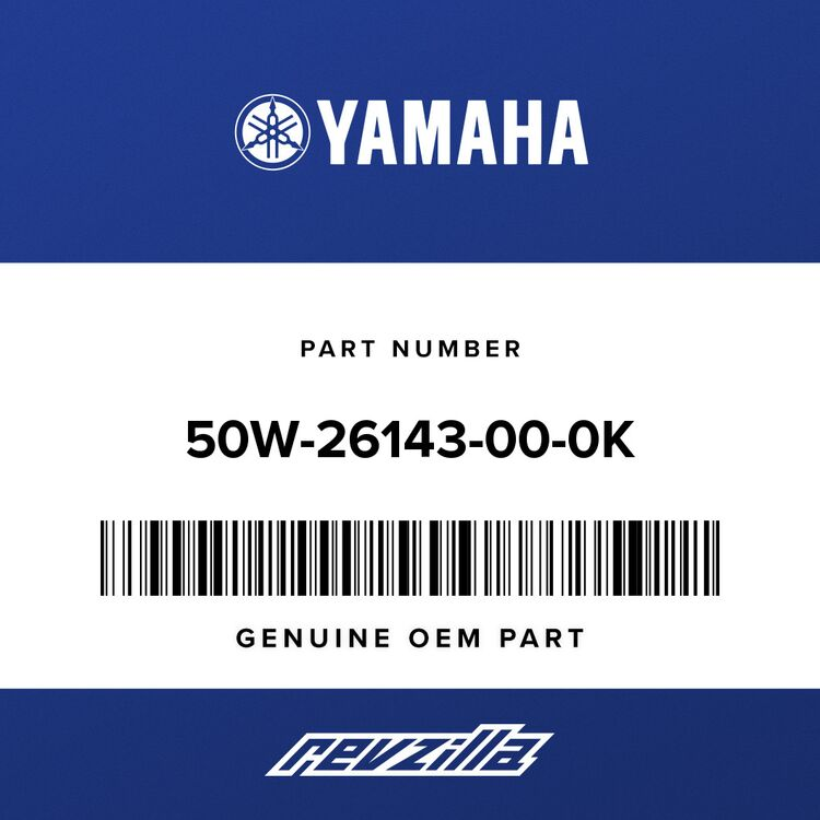 Yamaha COVER, HANDLEBAR UPPER 1 50W-26143-00-0K
