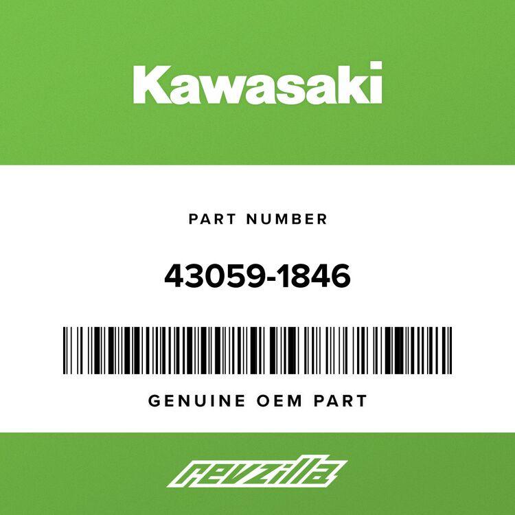 Kawasaki HOSE-BRAKE, FR, LWR, LH 43059-1846