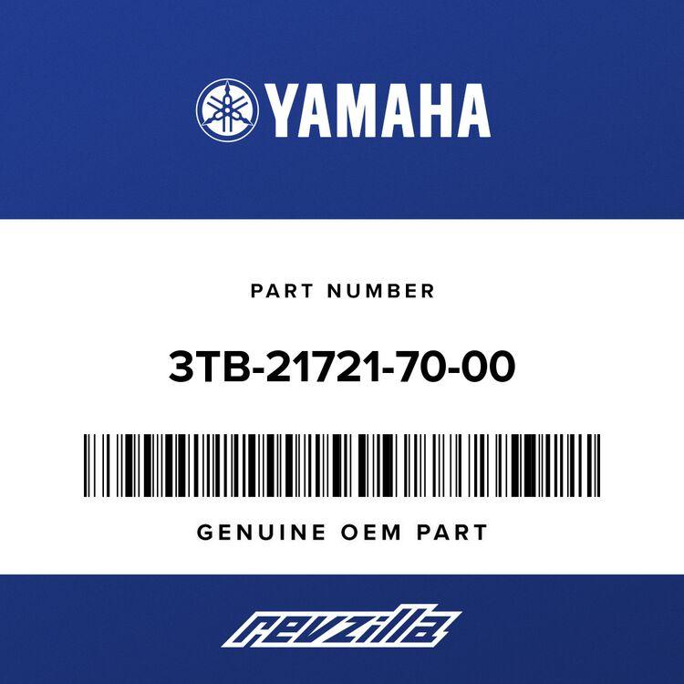 Yamaha COVER, SIDE 2 3TB-21721-70-00