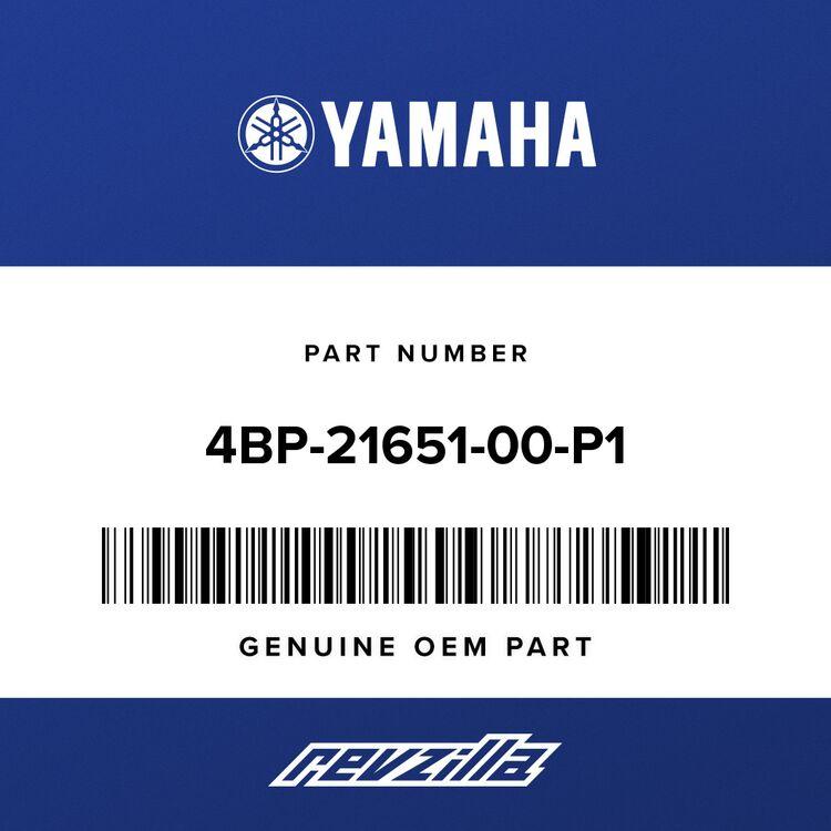 Yamaha COVER, REAR FENDER 4BP-21651-00-P1