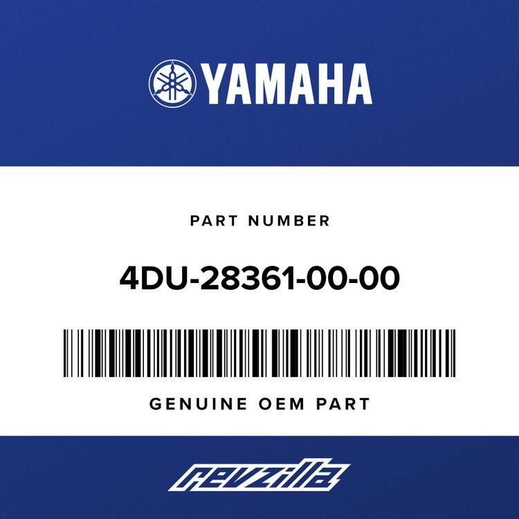Yamaha PLATE, FRONT 4DU-28361-00-00