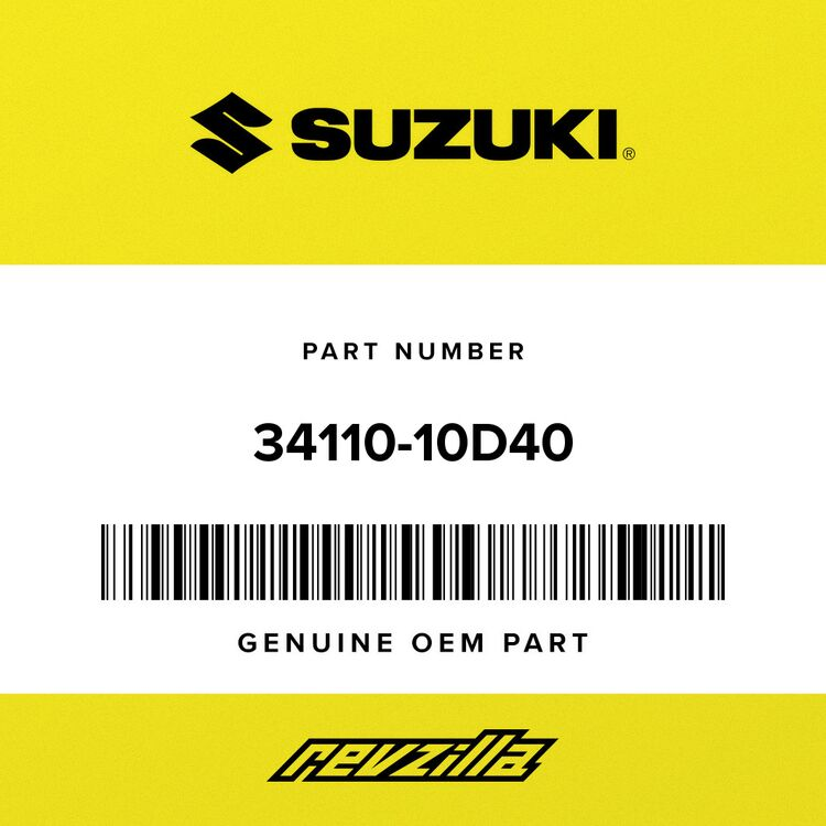 Suzuki SPEEDOMETER (MILE/KILO) 34110-10D40