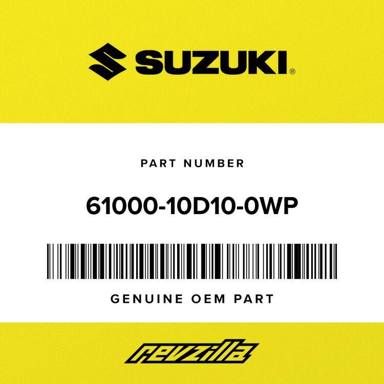 Suzuki SWINGING ARM ASSY, REAR 61000-10D10-0WP