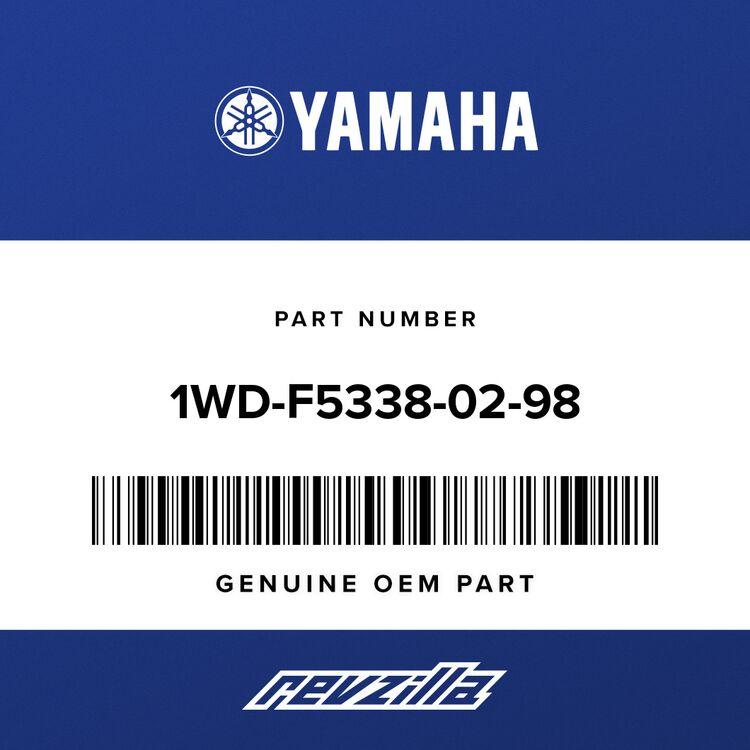 Yamaha CAST WHEEL, REAR 1WD-F5338-02-98