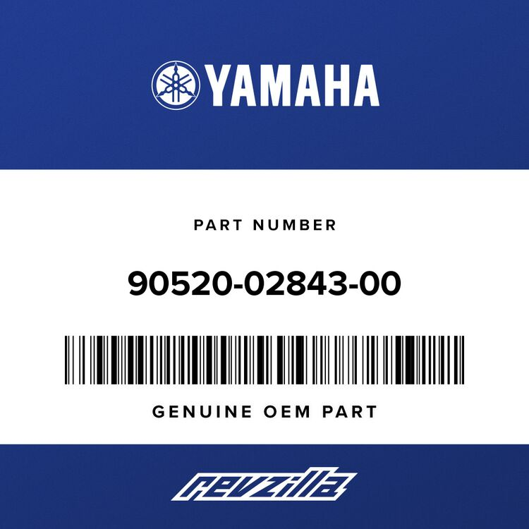 Yamaha DAMPER, PLATE 90520-02843-00