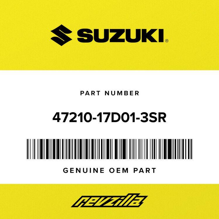 Suzuki COVER, FRAME LH 47210-17D01-3SR