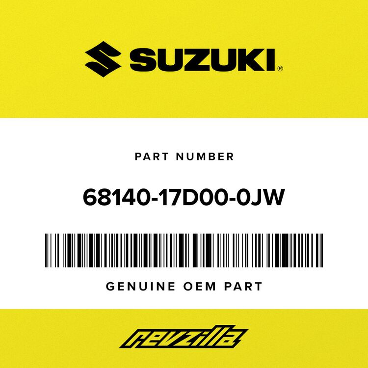 Suzuki TAPE SET, LH 68140-17D00-0JW