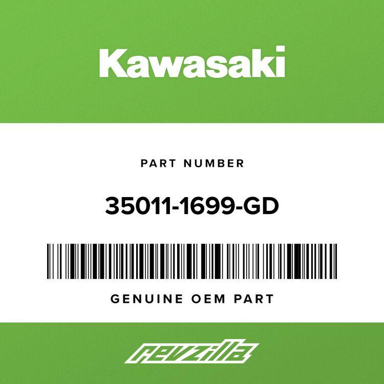 Kawasaki STAY, FR, LH, G.GRAY 35011-1699-GD
