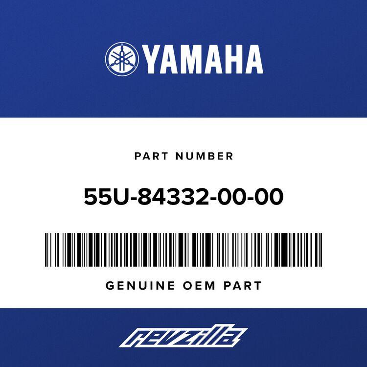 Yamaha SPRING, SCREW 55U-84332-00-00