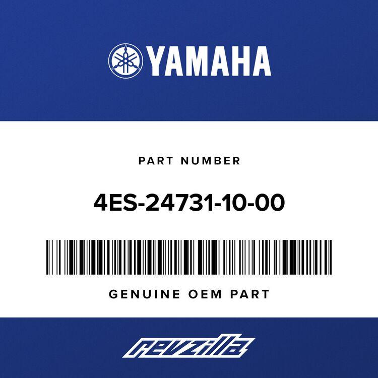 Yamaha COVER, SEAT 4ES-24731-10-00