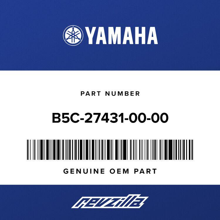 Yamaha FOOTREST, REAR 1 B5C-27431-00-00