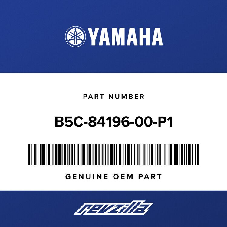 Yamaha COVER, SOCKET B5C-84196-00-P1