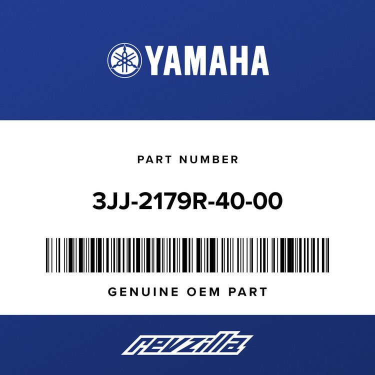 Yamaha PLATE, EPA CAL 2 3JJ-2179R-40-00