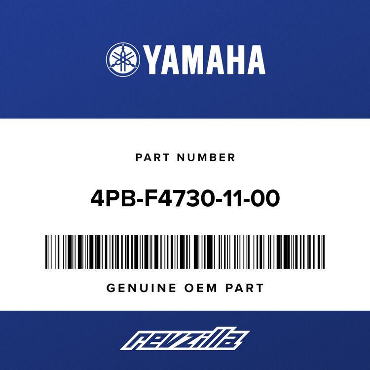 Yamaha DOUBLE SEAT ASSEMBLY 4PB-F4730-11-00