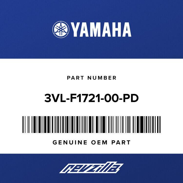 Yamaha COVER, SIDE 1 3VL-F1721-00-PD