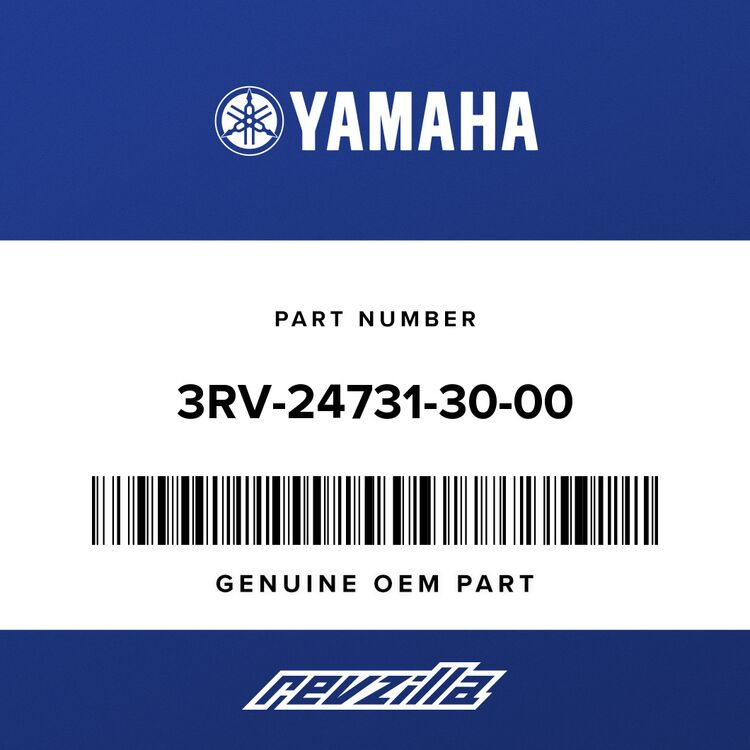 Yamaha COVER, SEAT 3RV-24731-30-00