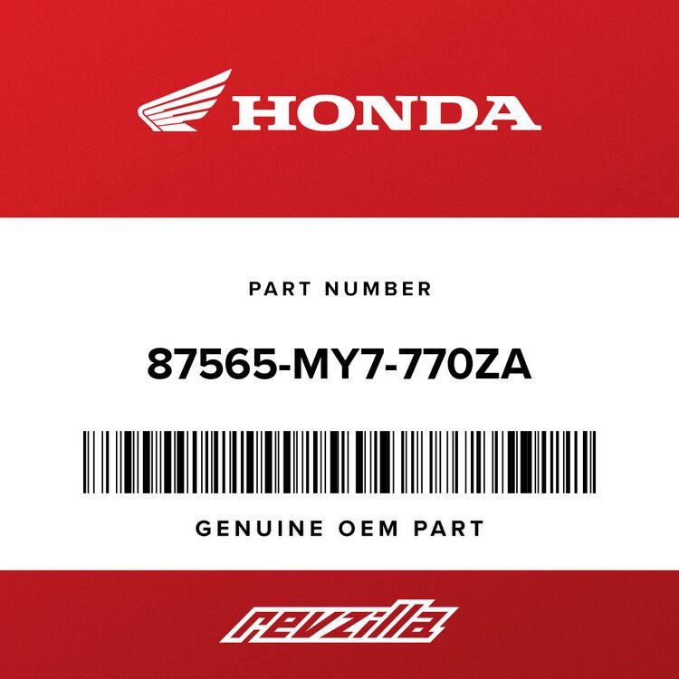 Honda LABEL, COLOR (NH193P) (TYPE1) 87565-MY7-770ZA