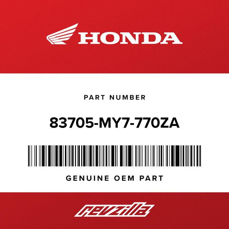 Honda MARK, L. COWL (TYPE1) 83705-MY7-770ZA