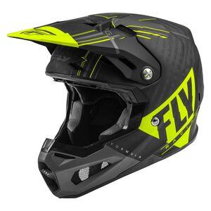 Fly Racing Dirt Youth Formula Carbon Vector Helmet